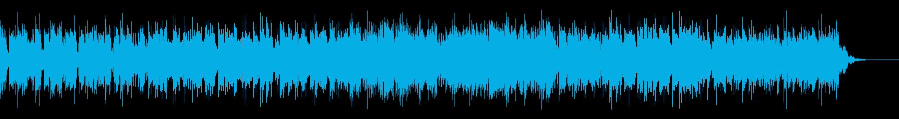 シンセとエレピの緊迫感・ダンジョン風の再生済みの波形