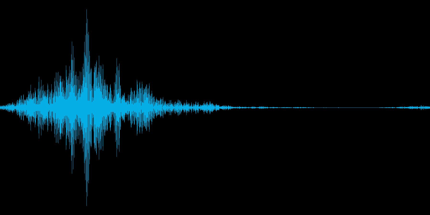 RPG:弓による攻撃音「ヒュッ」の再生済みの波形