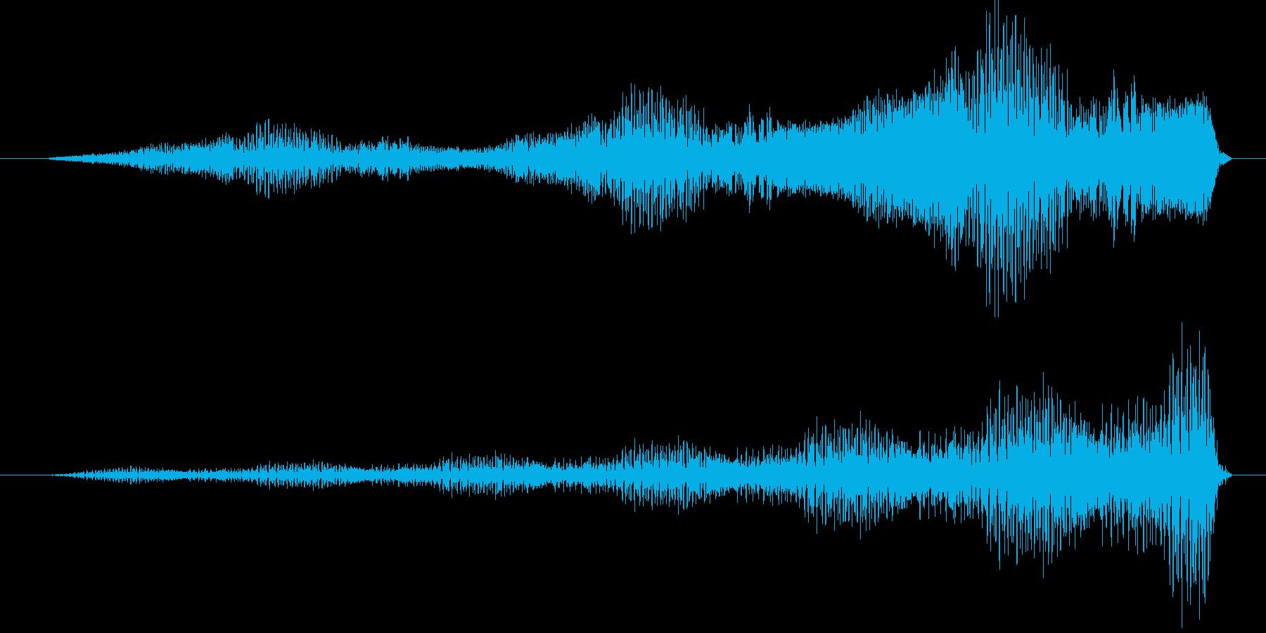フーフオー (星人の声)の再生済みの波形