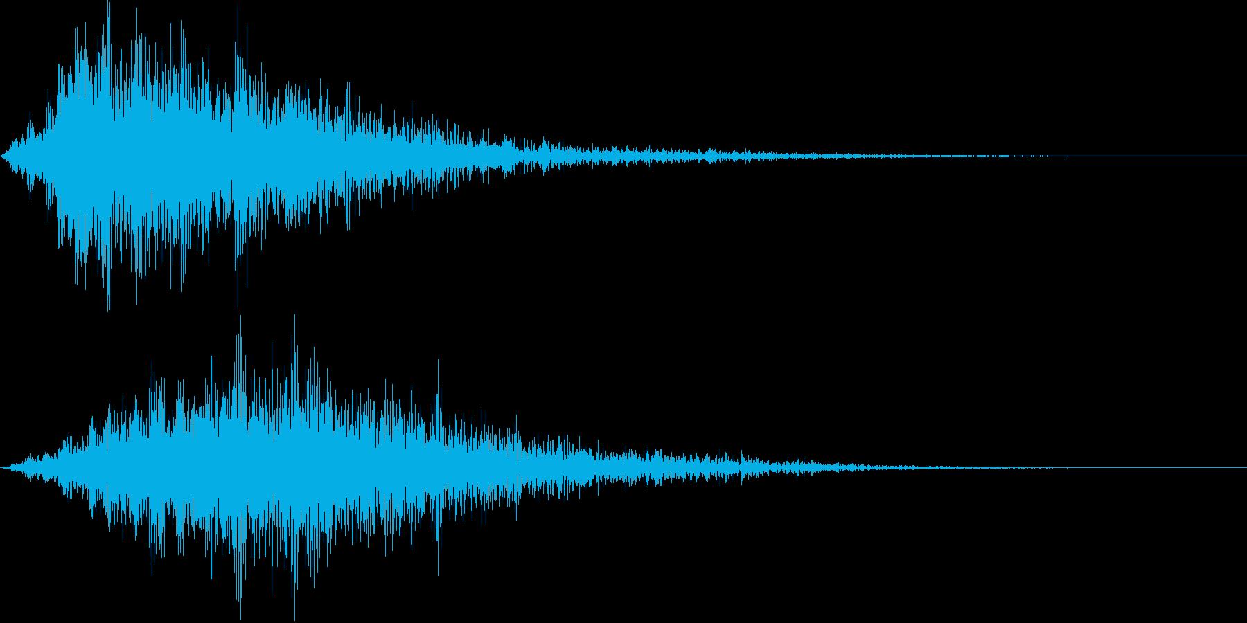 エンカウント ぶわっの再生済みの波形