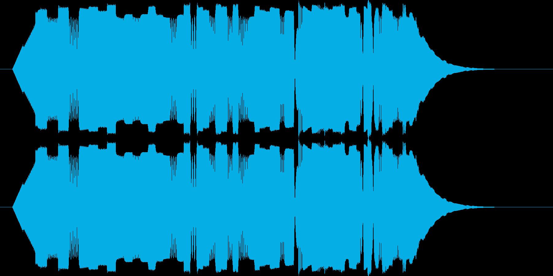 パリポリポパリポリポリ(電子)の再生済みの波形