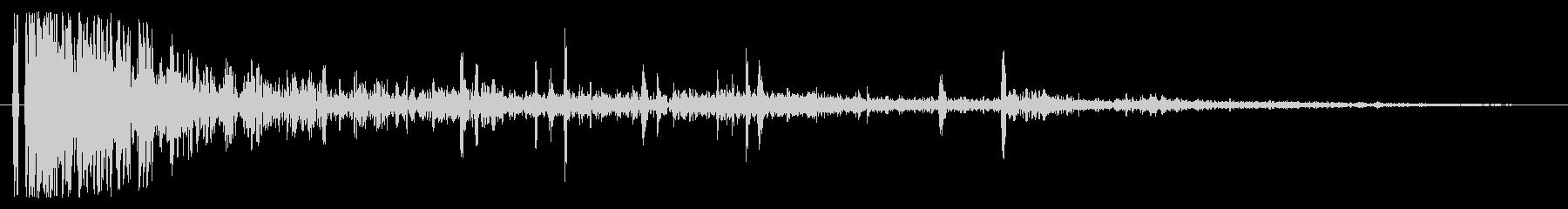 ドンパァ〜!本当にリアルな花火の効果音2の未再生の波形
