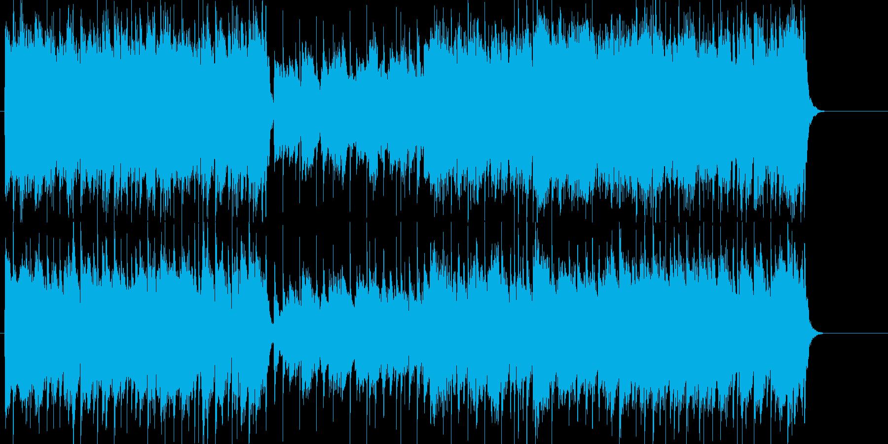 ほのぼの ミセス 前進 ティータイムの再生済みの波形
