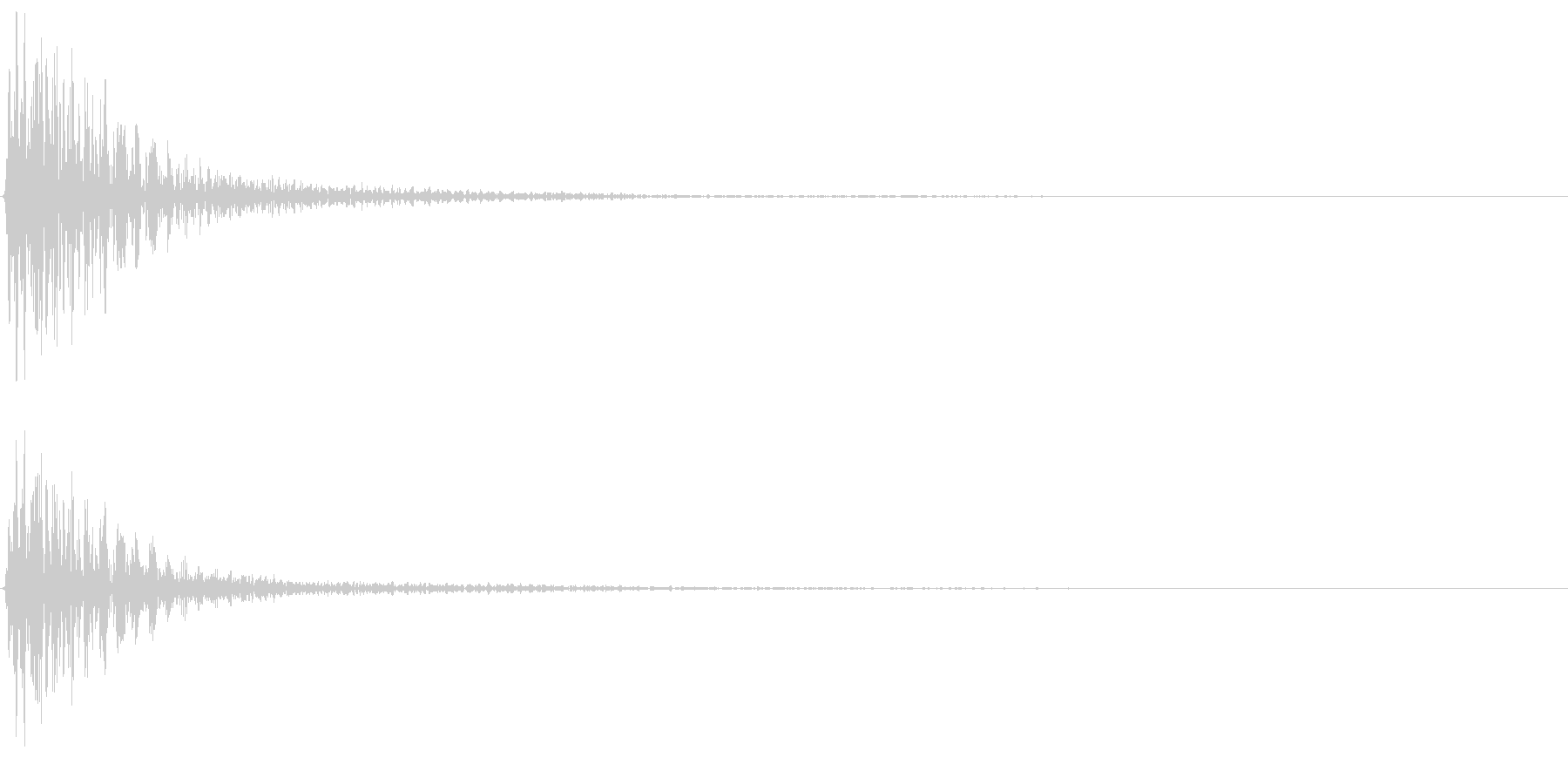 ポーン(ゲーム、アプリなどの操作音01)の未再生の波形