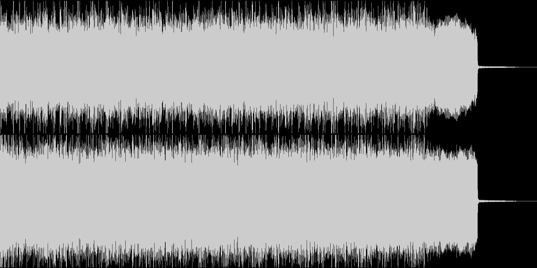 メタル イントロ ジングル2 生演奏の未再生の波形