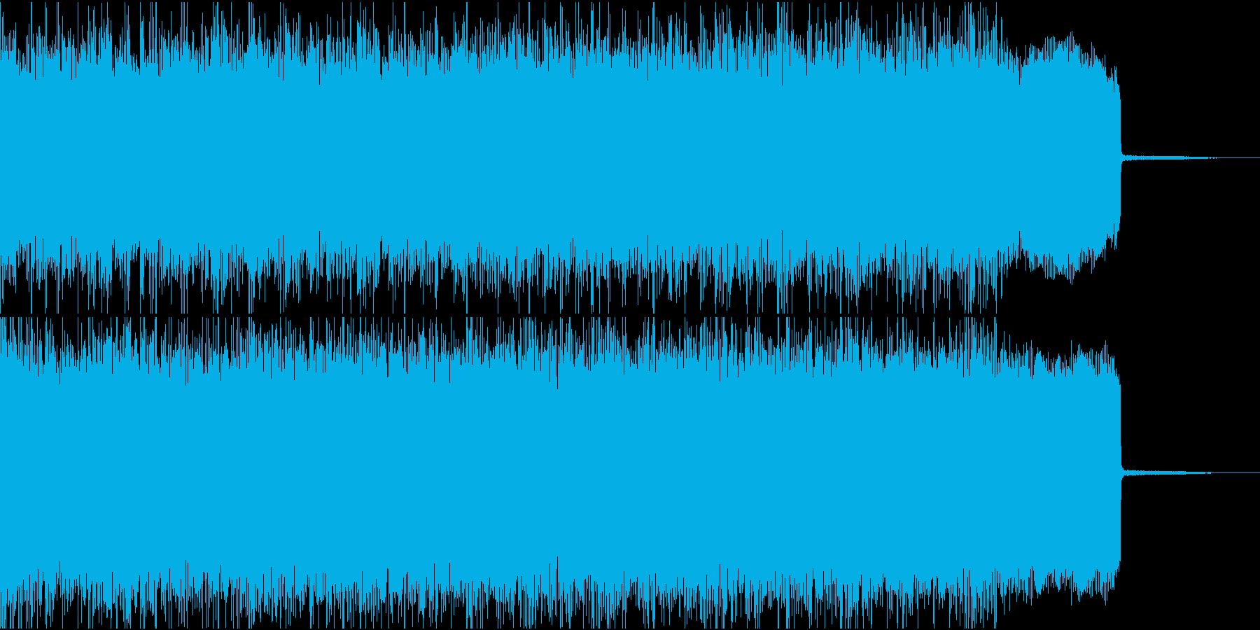 メタル イントロ ジングル2 生演奏の再生済みの波形