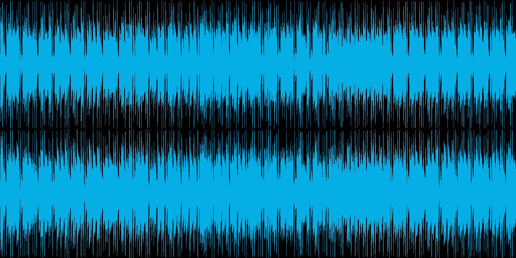 ほのぼの、コミカルなBGMです。の再生済みの波形