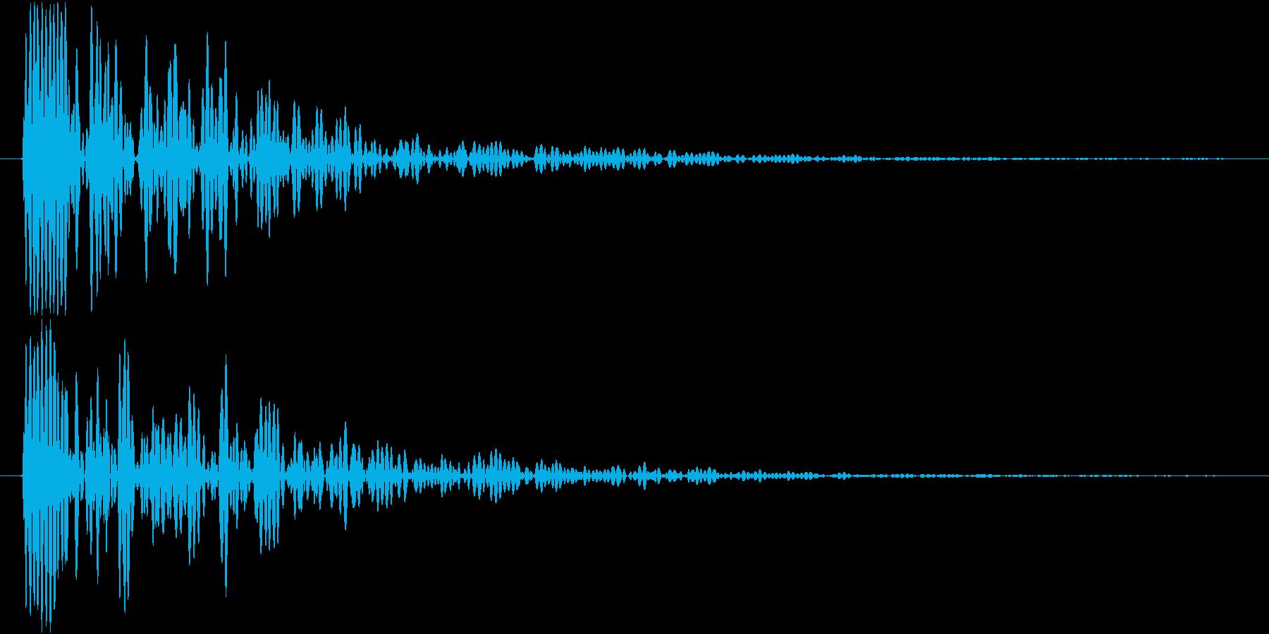 Knife 三徳包丁 トン 単発 1の再生済みの波形
