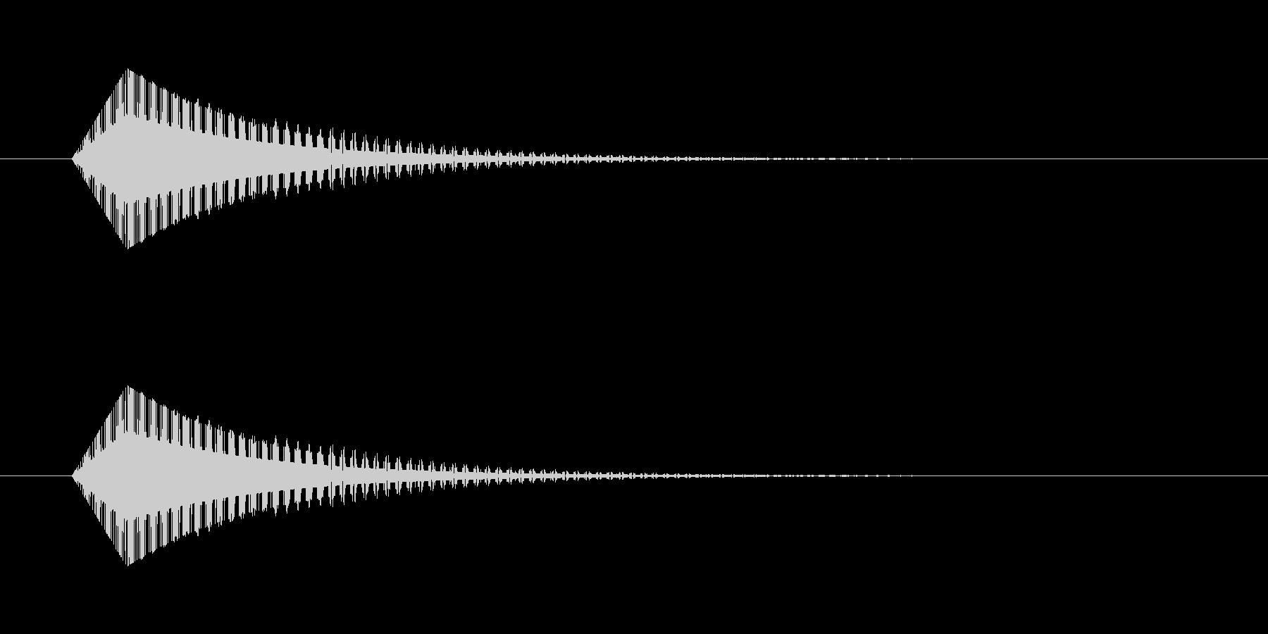 ギュイーン レトロゲーム風 魔法の未再生の波形