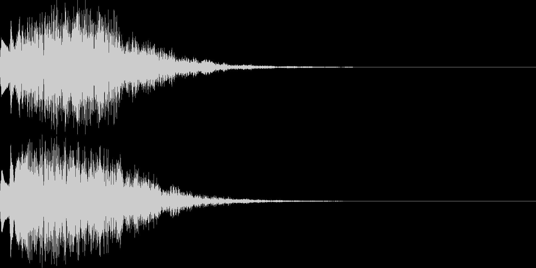キラキラ06上昇の未再生の波形