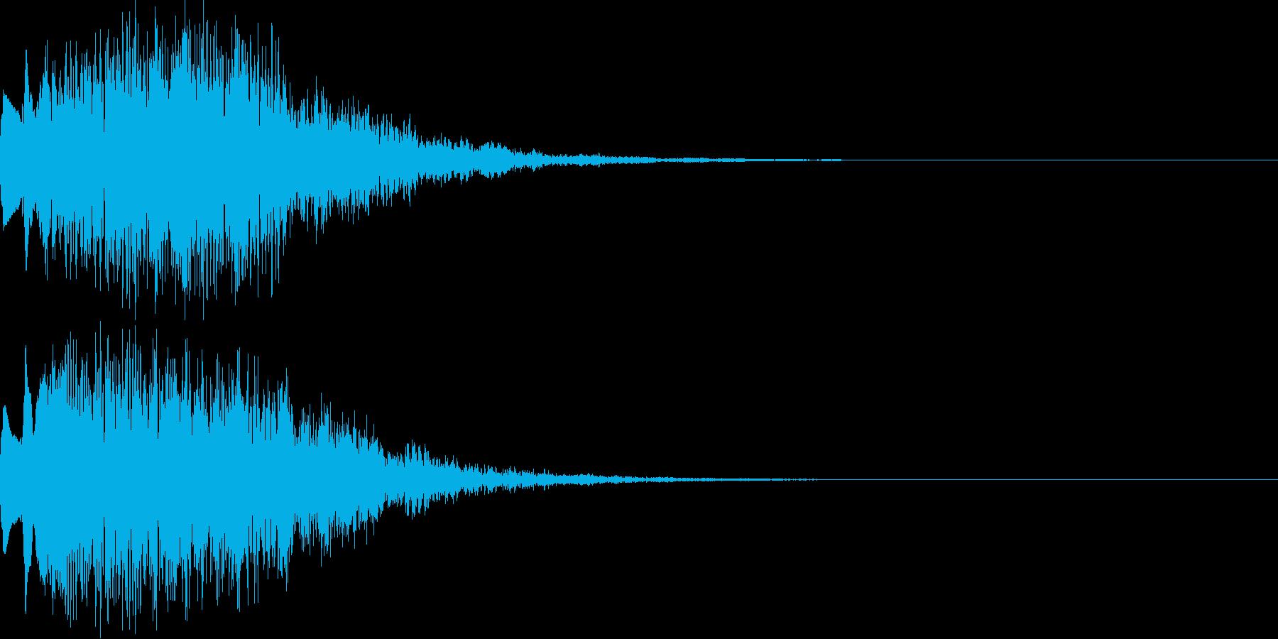 キラキラ06上昇の再生済みの波形