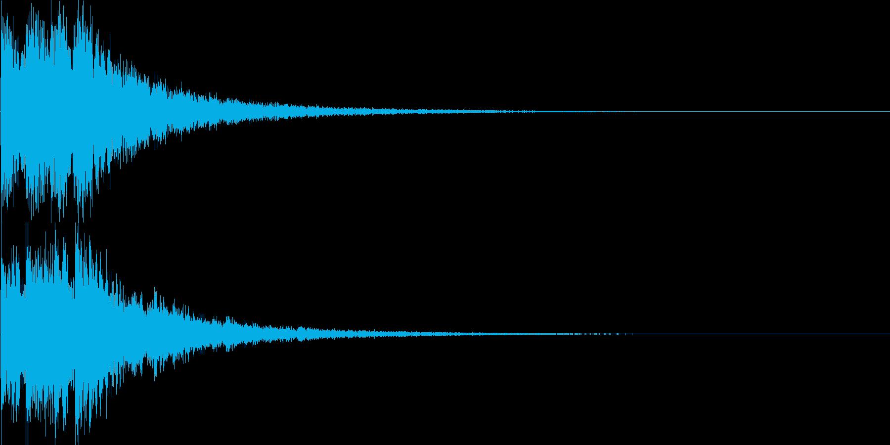 シンセ音(決定音、アプリ、ゲームなどに)の再生済みの波形