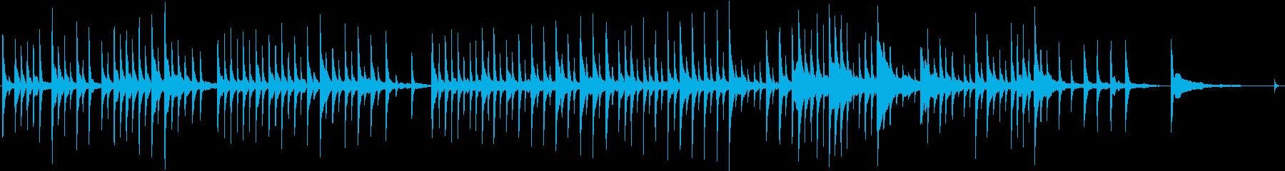 クリスマス 星 赤ちゃん ■ ピアノソロの再生済みの波形