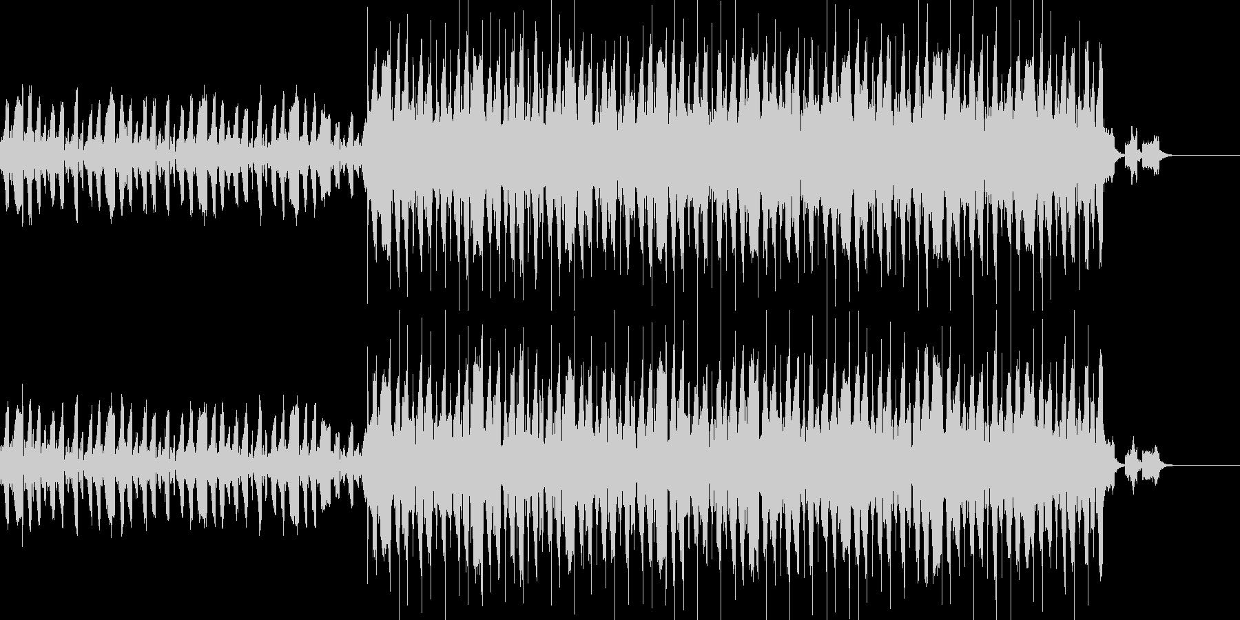 wave系ショート楽曲の未再生の波形