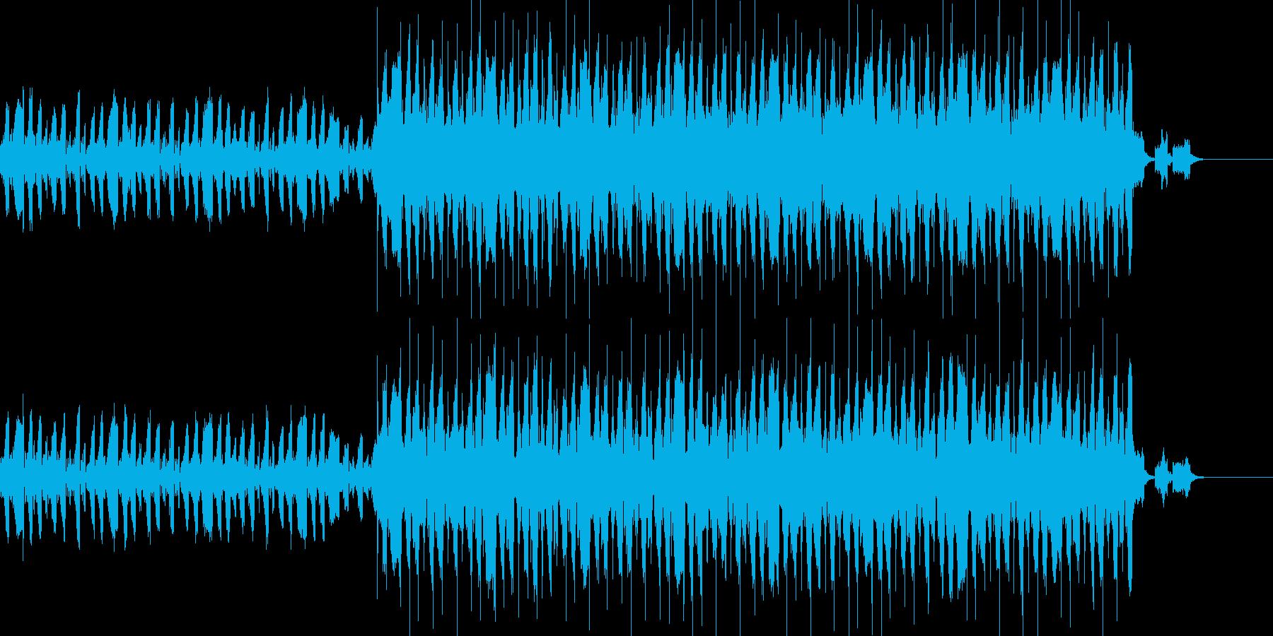 wave系ショート楽曲の再生済みの波形