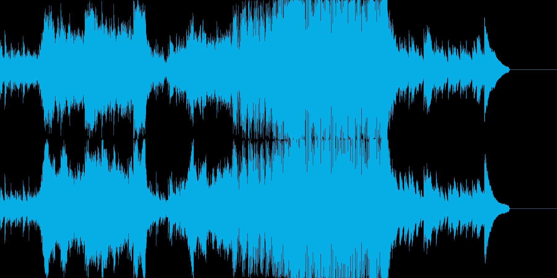 和風のピアノ・ストリングスEDMの再生済みの波形