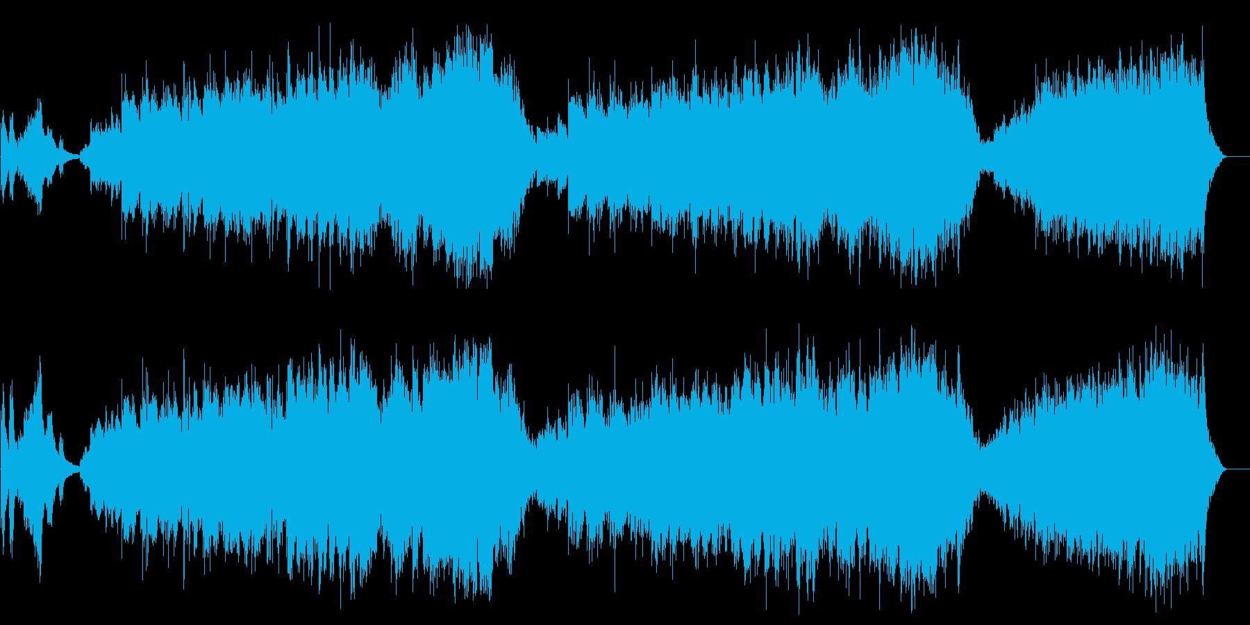 リラクセイション系 精神安定サウンドの再生済みの波形