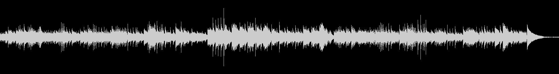 ショパンノクターン風ピアノオリジナル曲の未再生の波形
