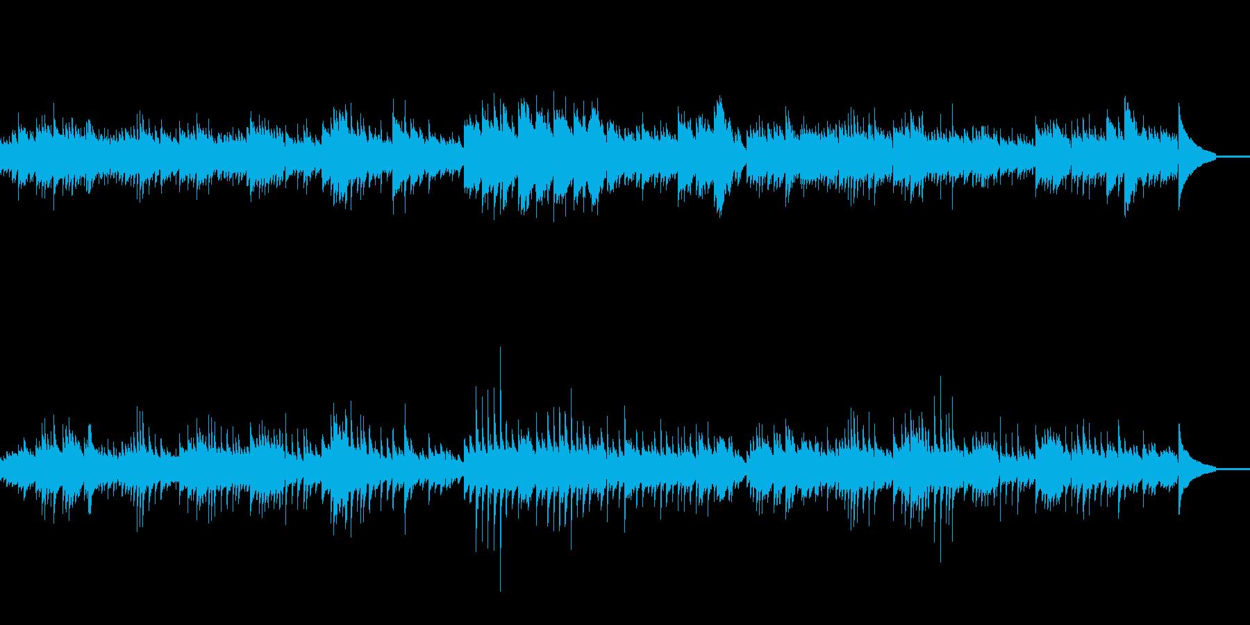 ショパンノクターン風ピアノオリジナル曲の再生済みの波形
