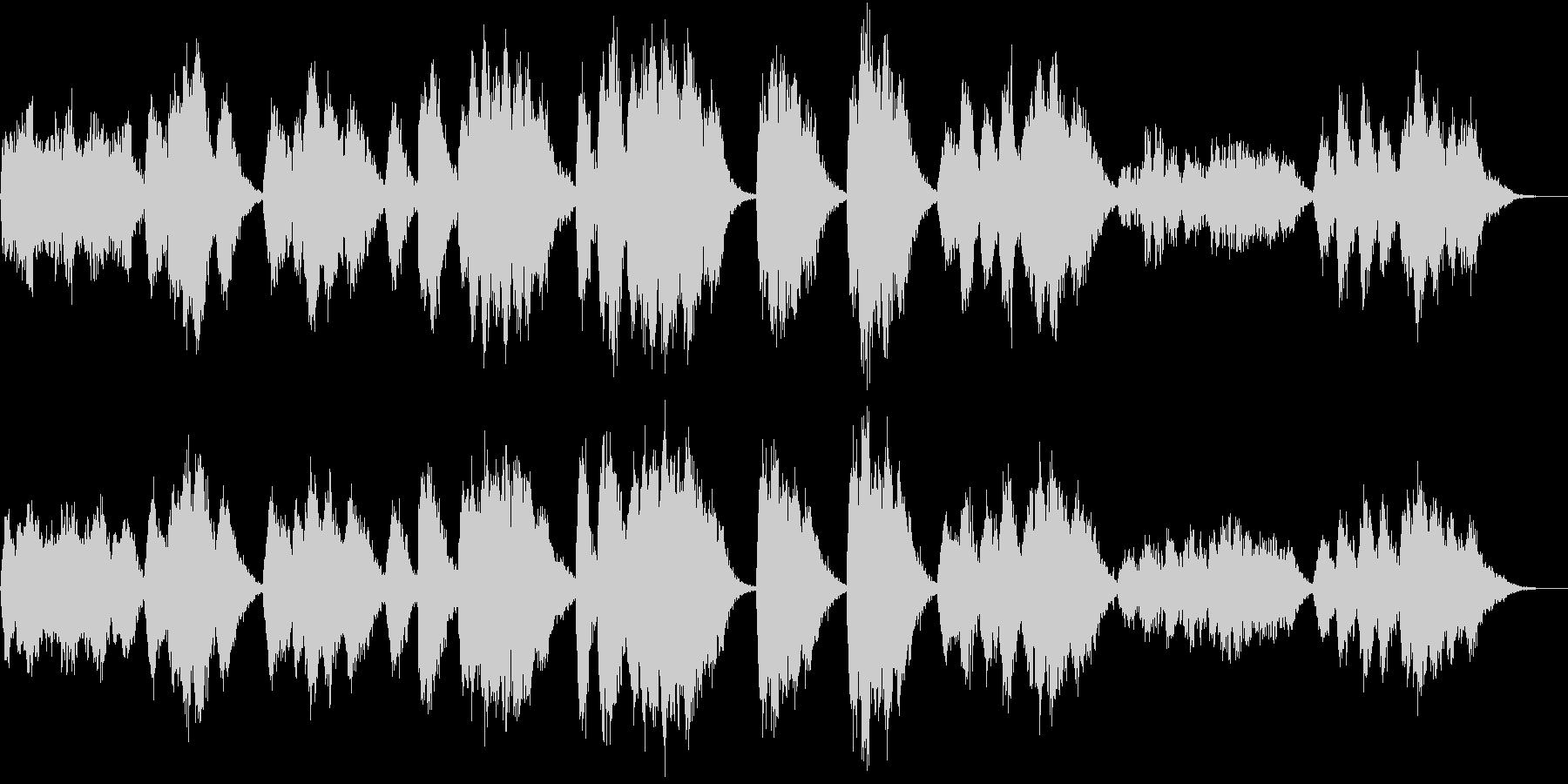 怪しい歌声/ハロウィンBGM/怖い肖像画の未再生の波形