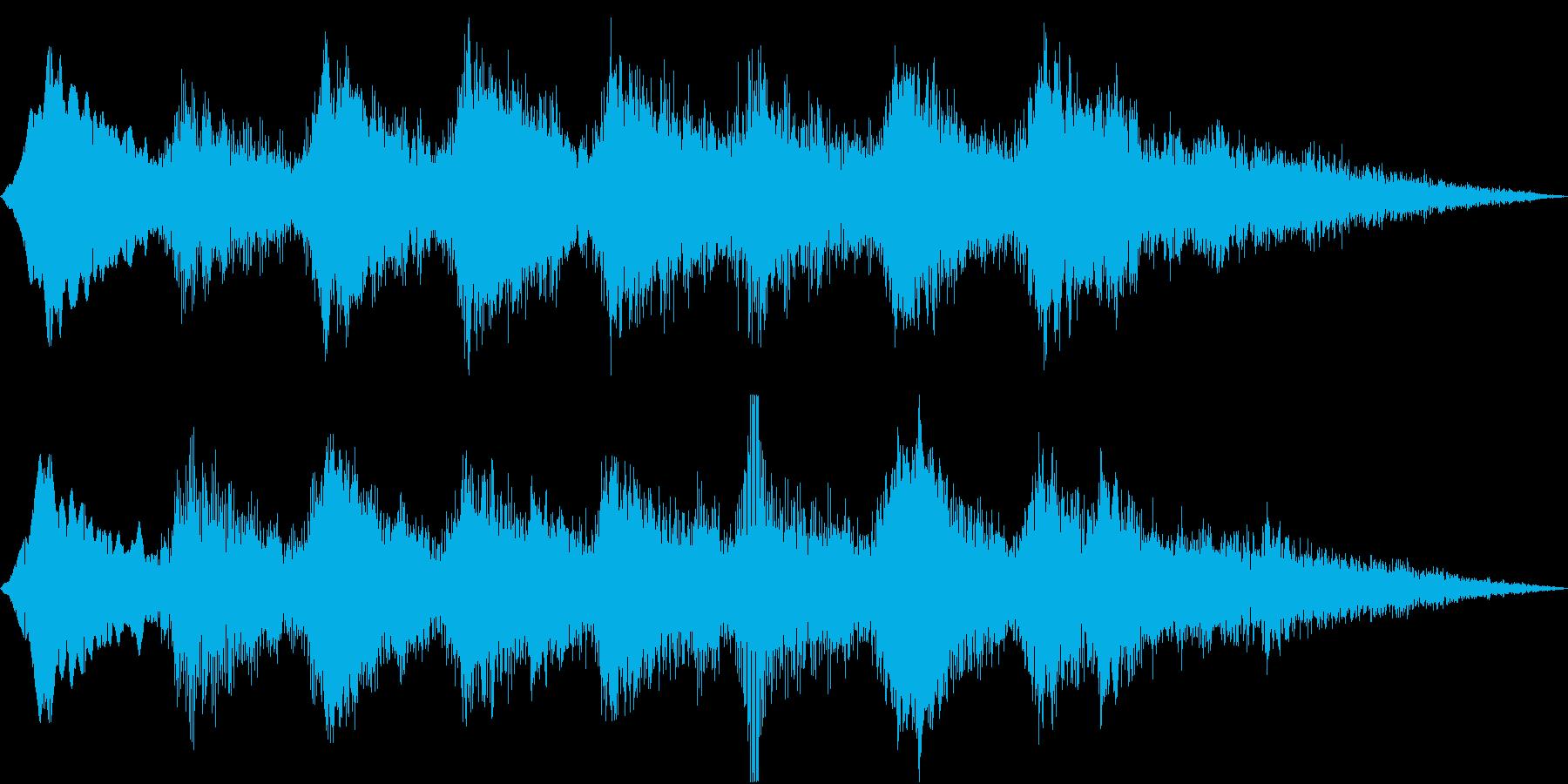 Anime 妖気を感じるPAD アヤカシの再生済みの波形