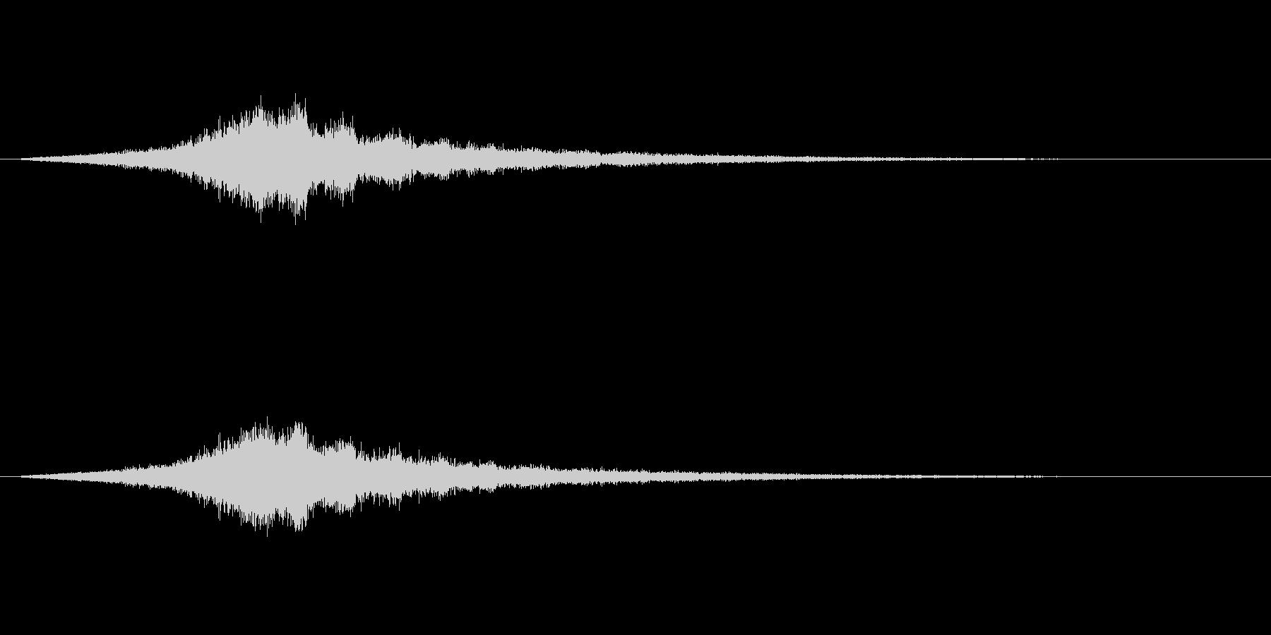 【ショートブリッジ21-2】の未再生の波形