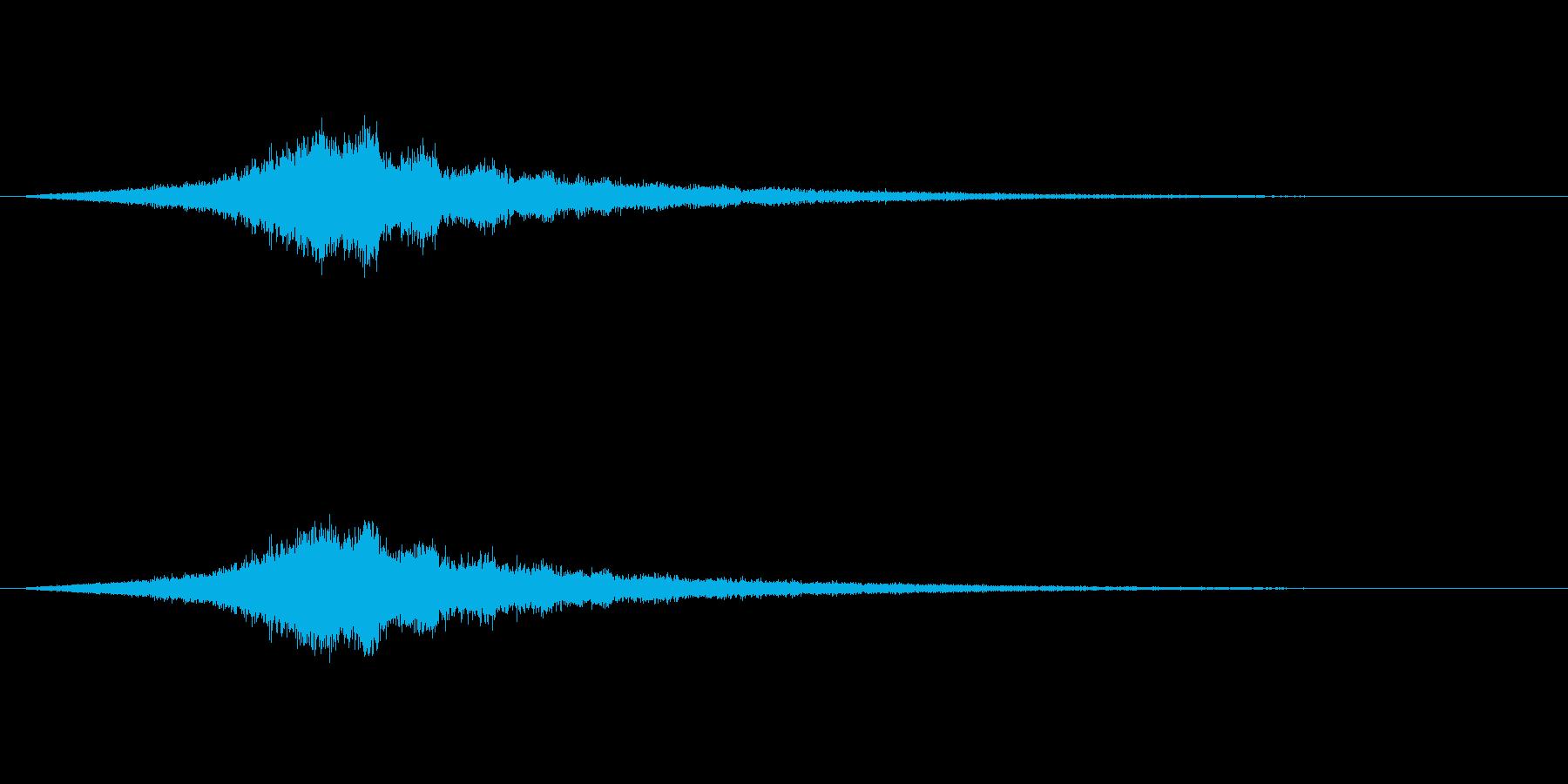 【ショートブリッジ21-2】の再生済みの波形