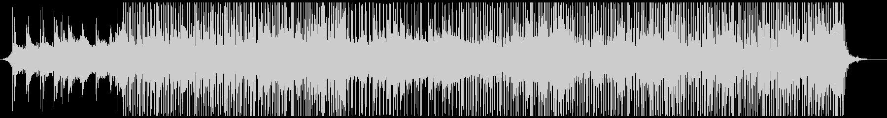 何かが始まるスペーシーでファットな曲の未再生の波形