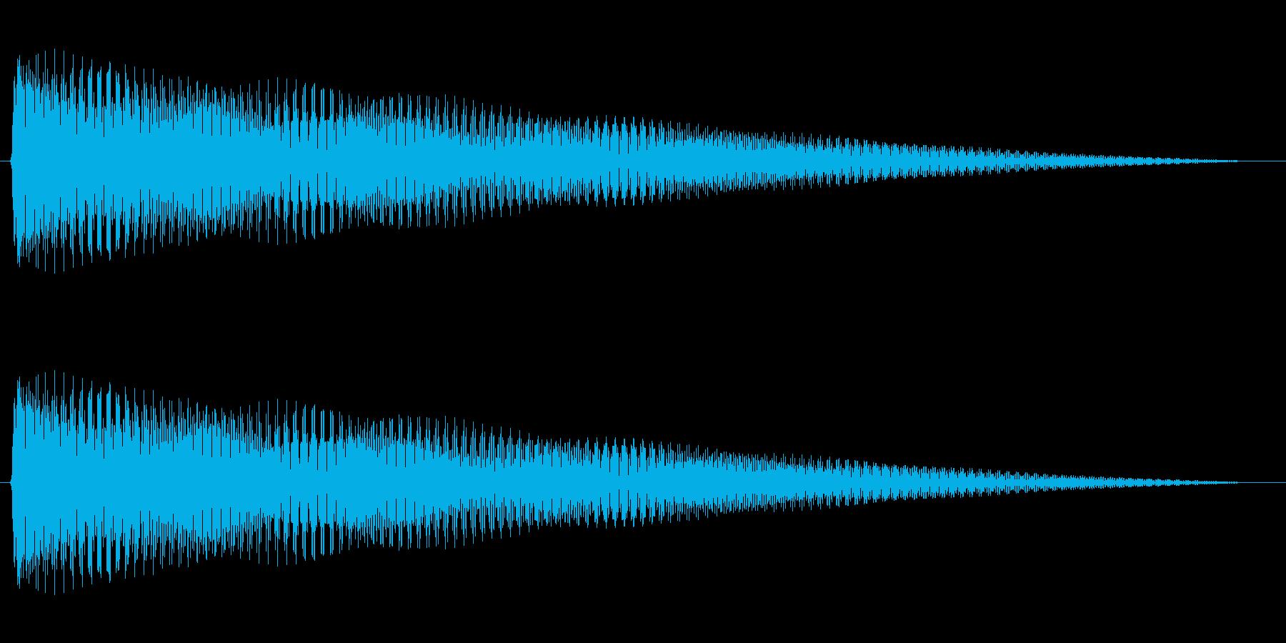 ジングル 切ないコードギターBの再生済みの波形