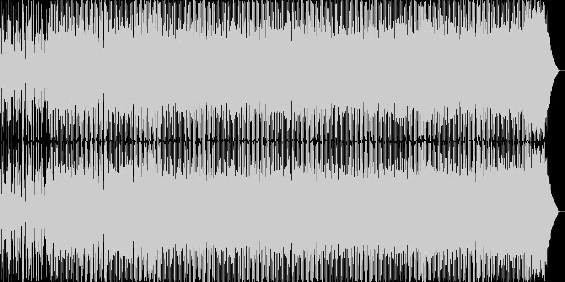 ゴリゴリのテクノトラックの未再生の波形