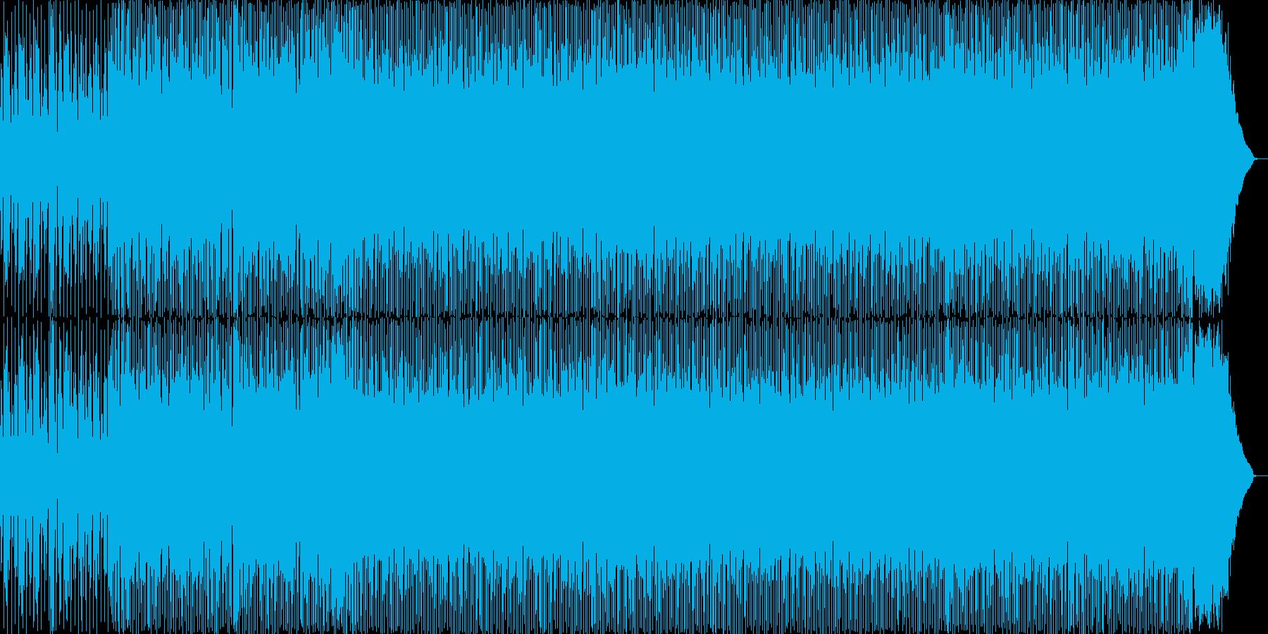 ゴリゴリのテクノトラックの再生済みの波形