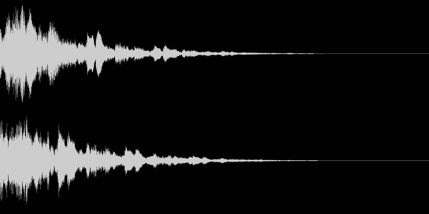 サウンドロゴ32(ベル系)の未再生の波形