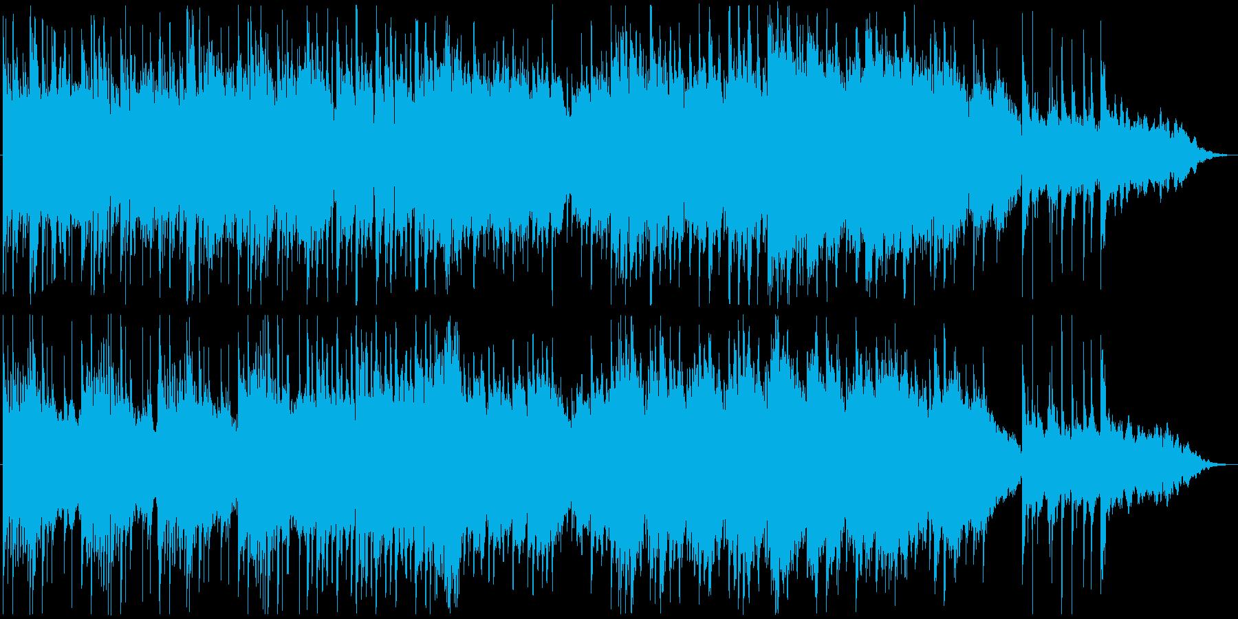 美しいピアノの旋律が印象的なポップスの再生済みの波形