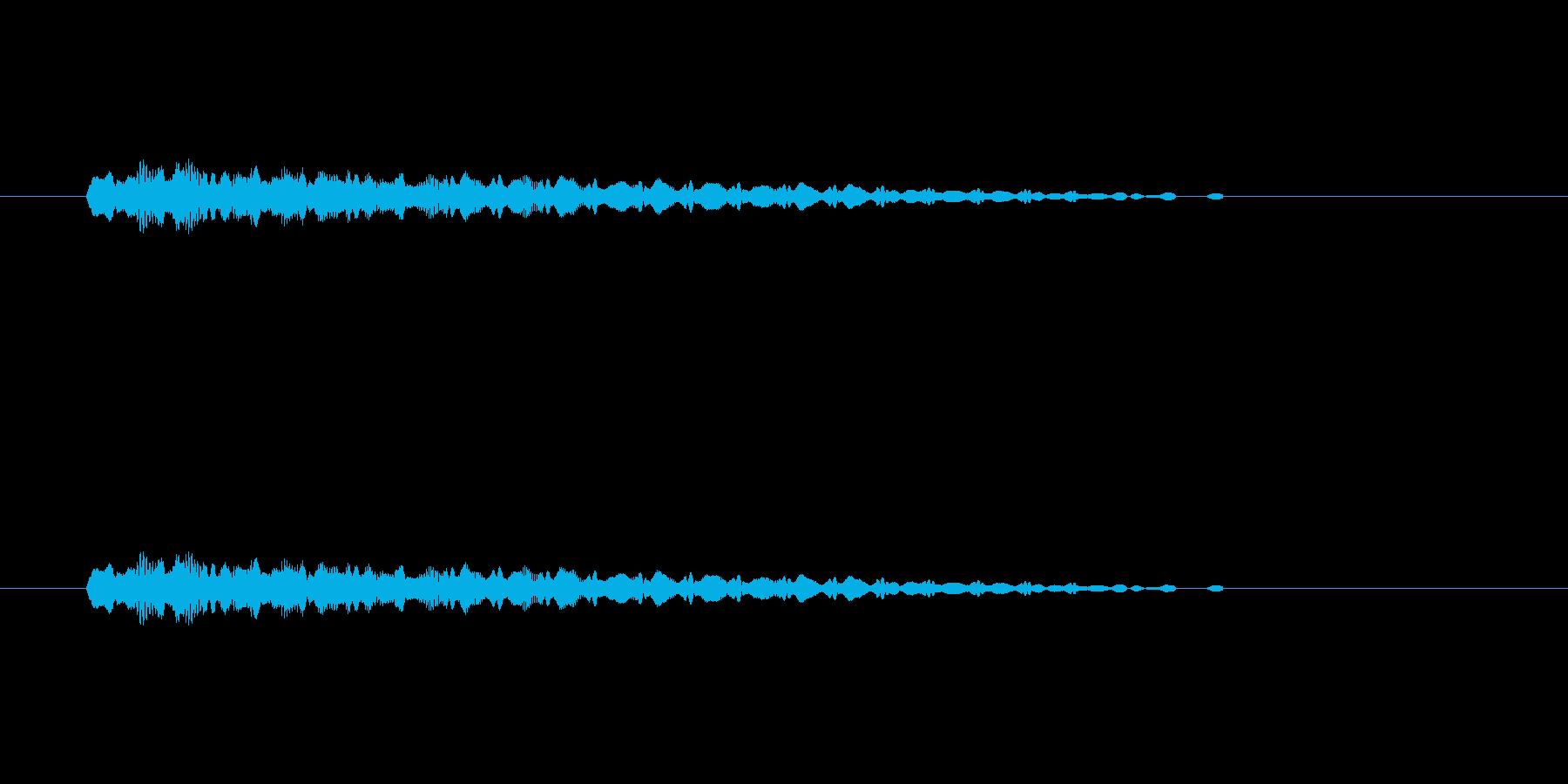 【ショートブリッジ30-4】の再生済みの波形