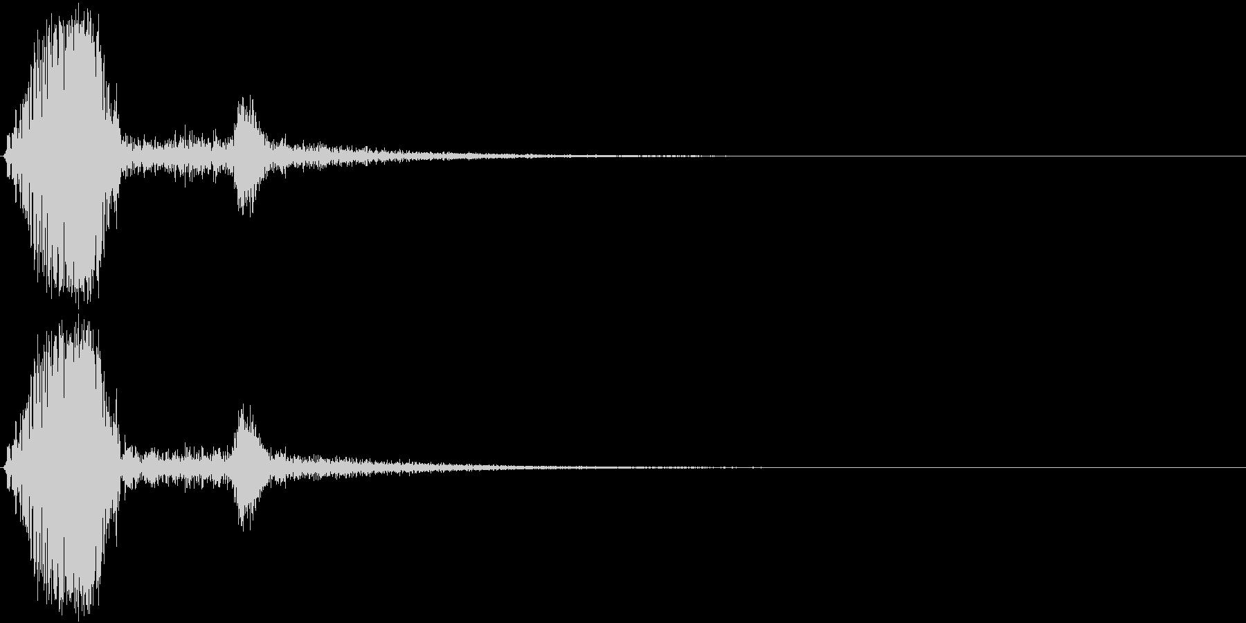 KAKUGE 格闘ゲーム戦闘音 70の未再生の波形
