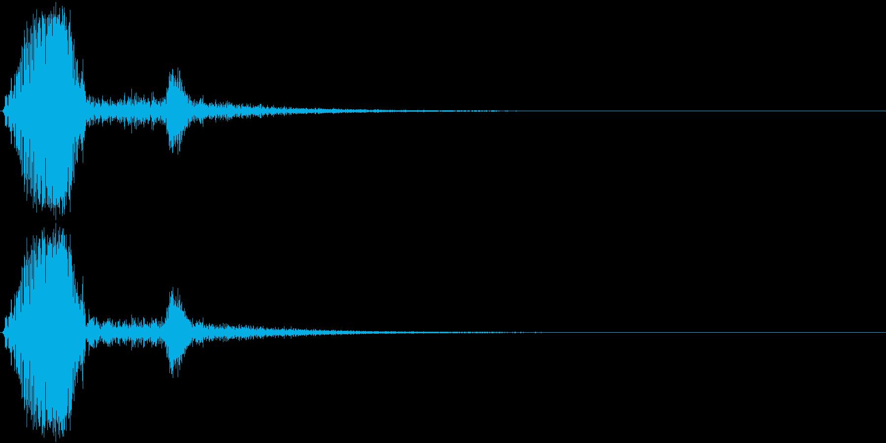 KAKUGE 格闘ゲーム戦闘音 70の再生済みの波形