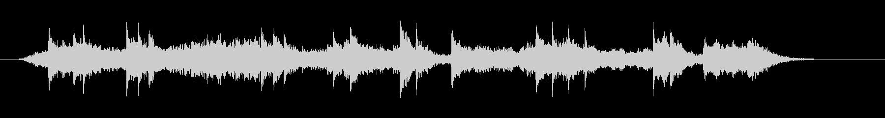 ピアノとシンセサイザーによるアンビエン…の未再生の波形