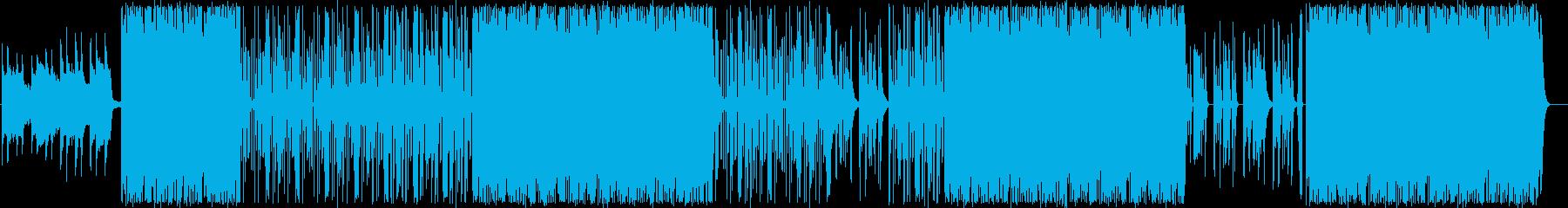 ピアノ/ブラス/大人/クランク808#1の再生済みの波形