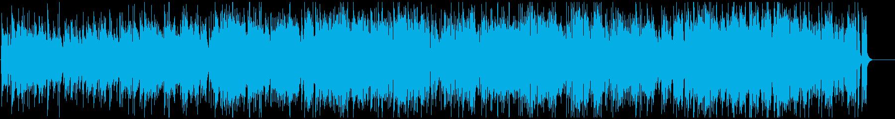 ほっこりボサノバ サックス&フルート生録の再生済みの波形