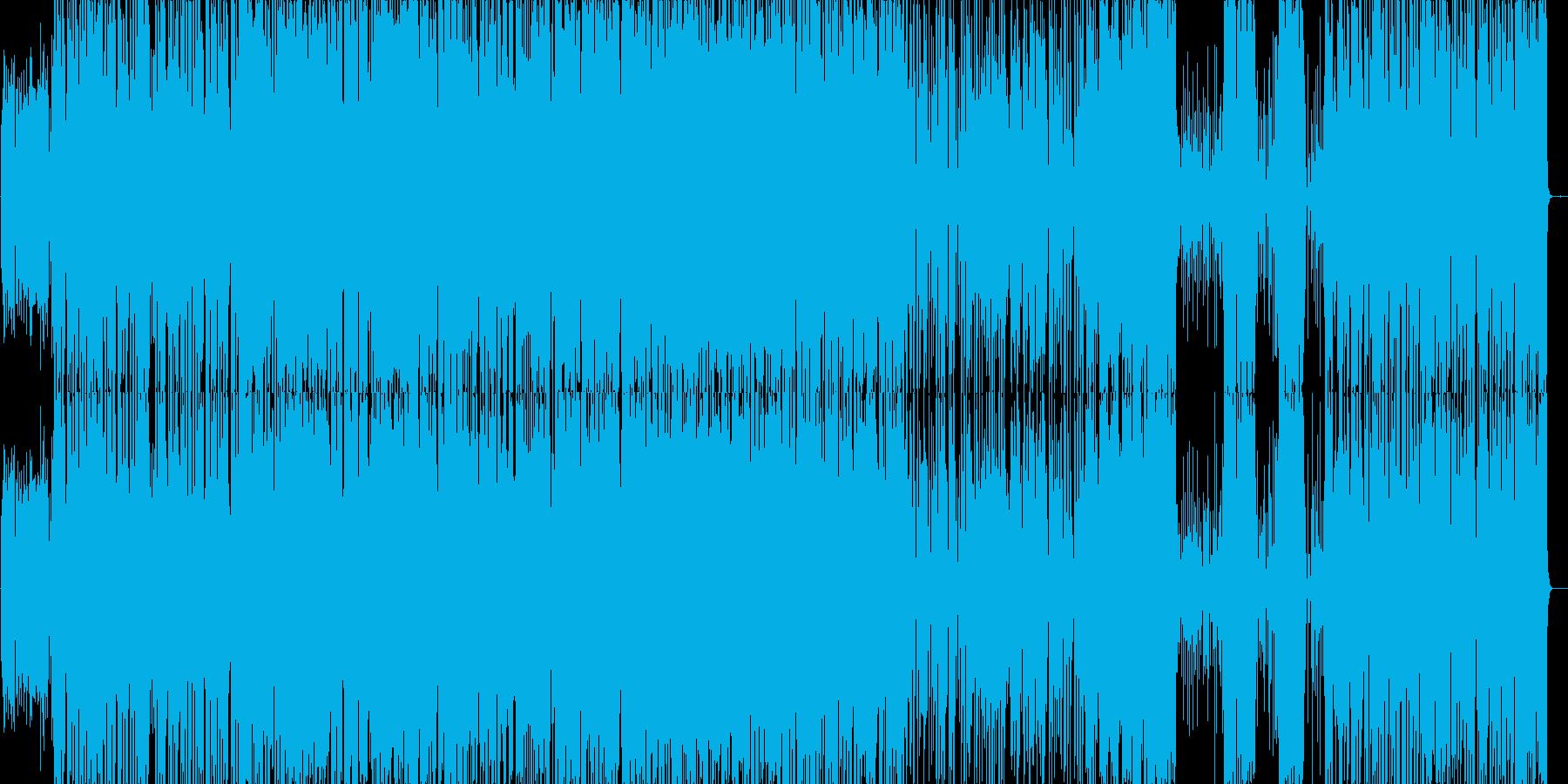 ガーシュウィンの早めジャズピアノトリオの再生済みの波形