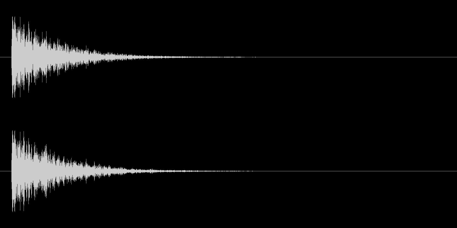 【アクセント10-2】の未再生の波形