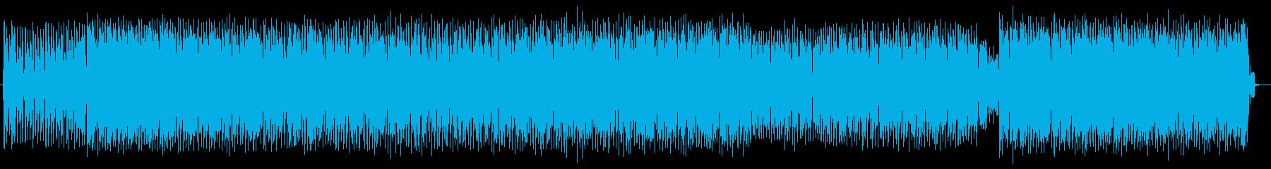 DJボイス入りダンスナンバーの再生済みの波形