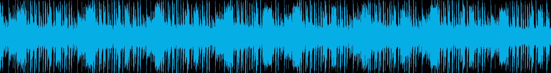 潜水っぽい音が特徴のループ。の再生済みの波形