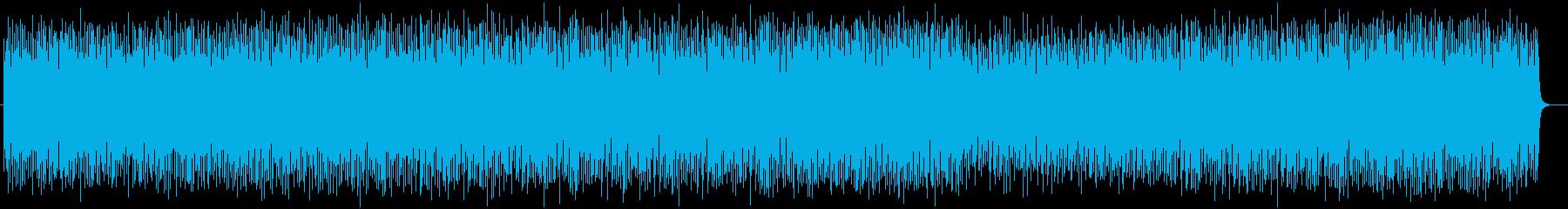 ゲームBGMポップスの再生済みの波形