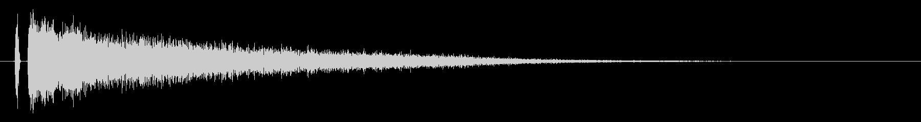 【チャイナシンバル3】中国風な演出に最適の未再生の波形