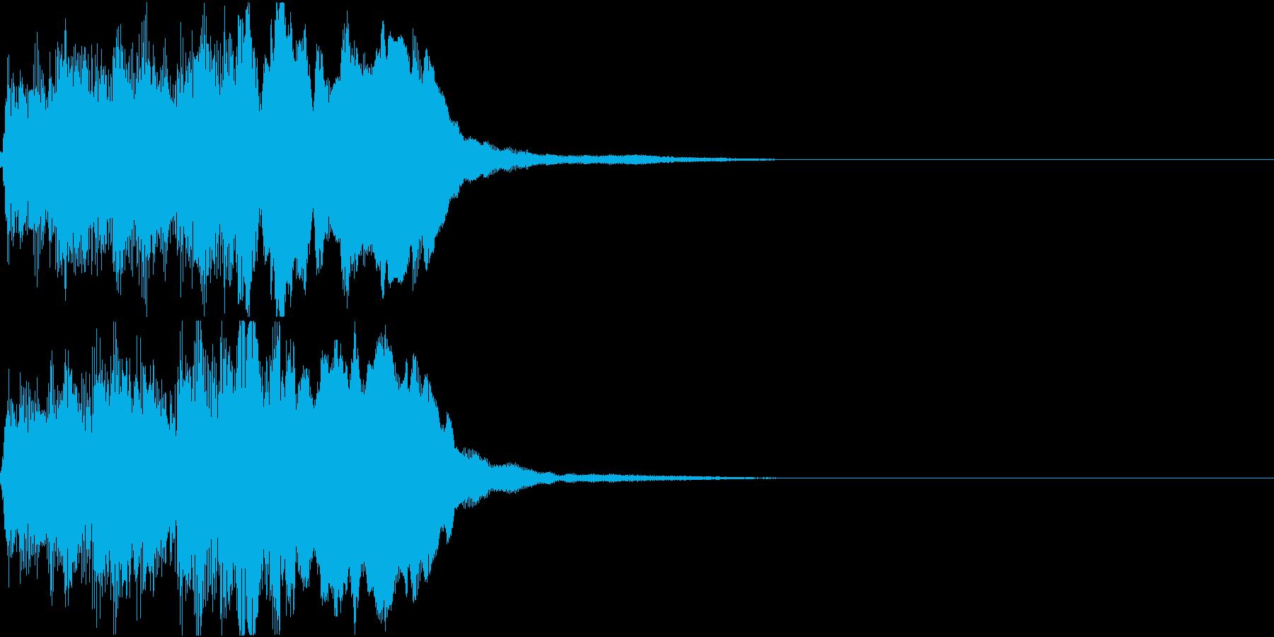 ラッパ ファンファーレ 定番 17の再生済みの波形