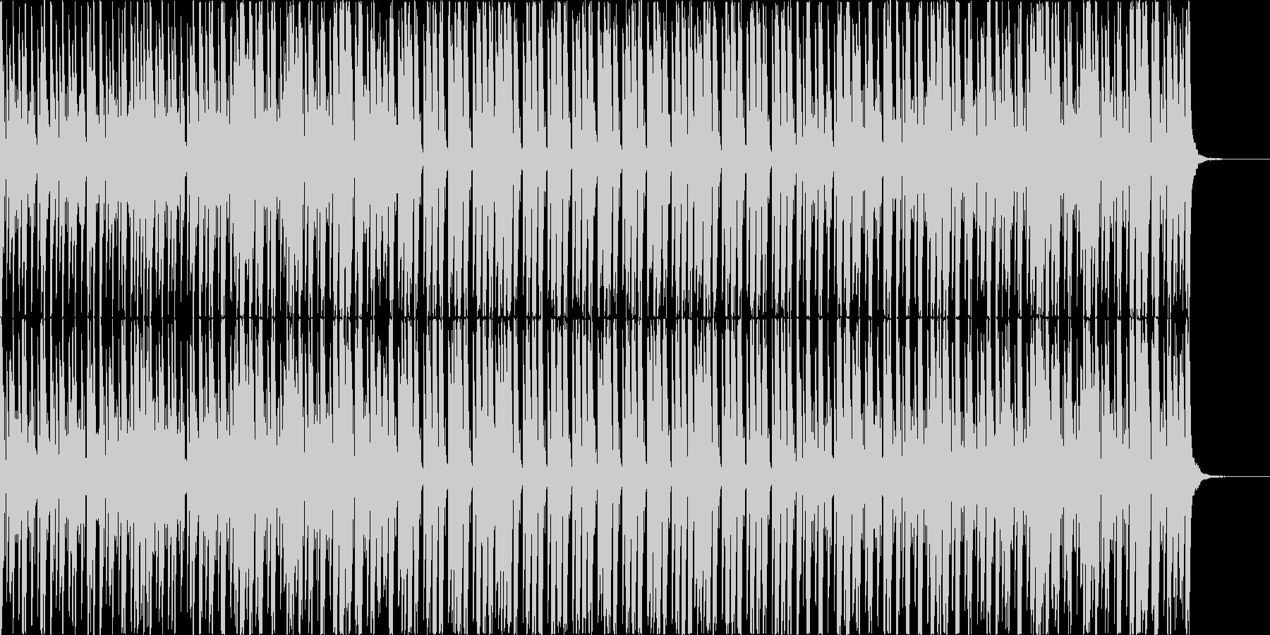 ピアノと弦のおしゃれなポップハウスの未再生の波形