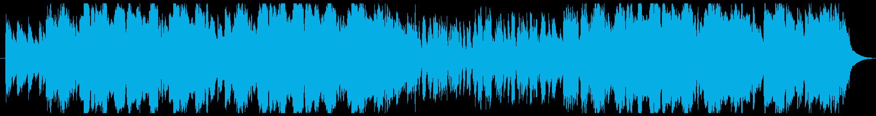 アコーディオンを使った かわいいワルツの再生済みの波形