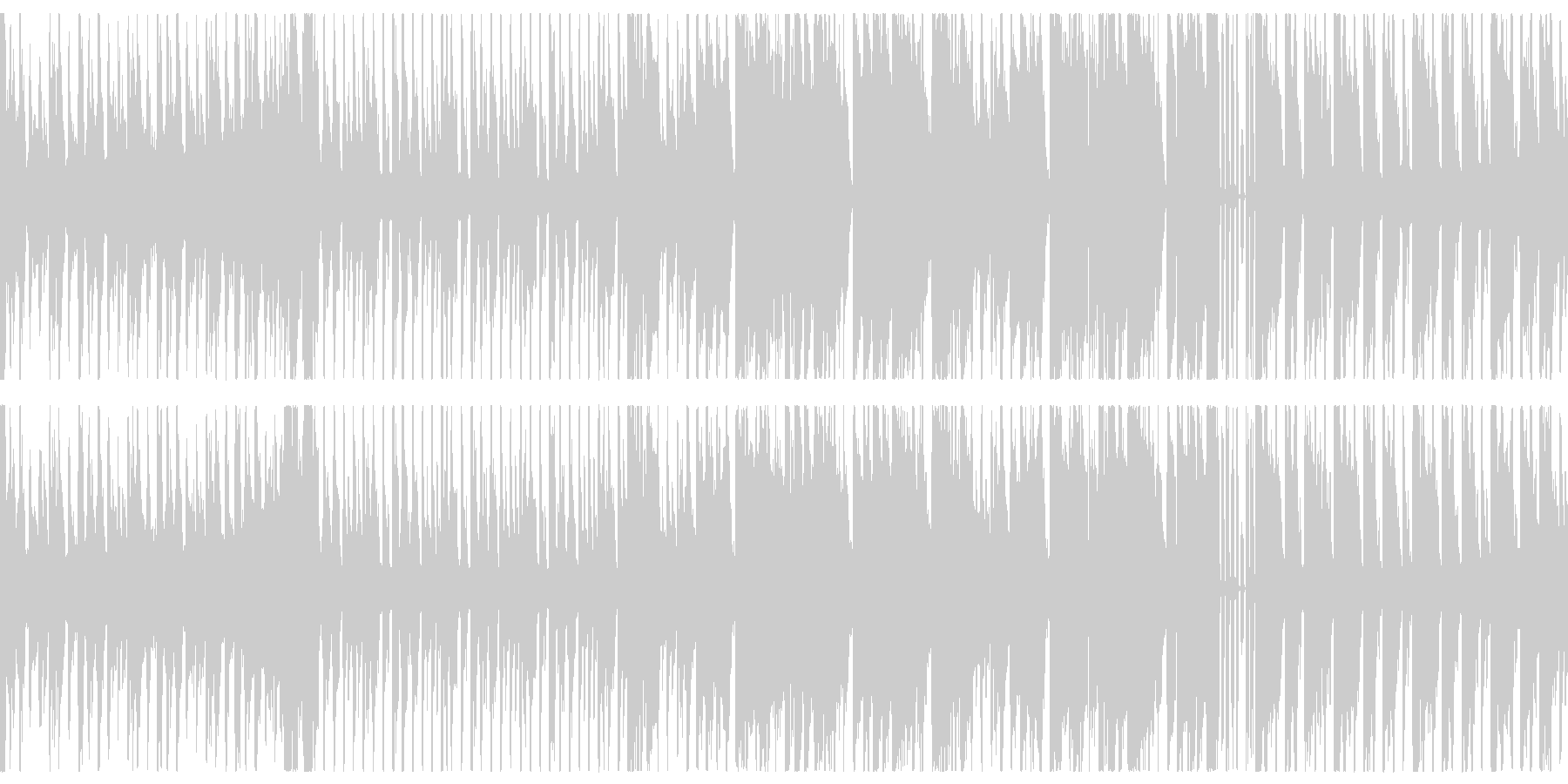 【ループ仕様】楽しげなRPGバトルBGMの未再生の波形