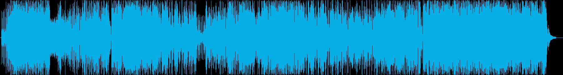 ほのぼの温かいポップスですの再生済みの波形